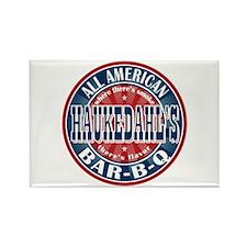 Haukedahl's All American BBQ Rectangle Magnet