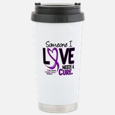 Needs A Cure 2 ALZHEIMERS Travel Mug