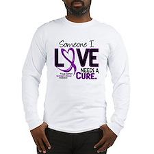 Needs A Cure 2 ALZHEIMERS Long Sleeve T-Shirt