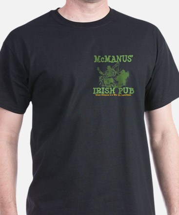 McManus' Irish Pub Personalized T-Shirt