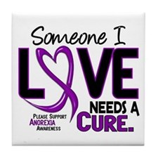 Needs A Cure 2 ANOREXIA Tile Coaster