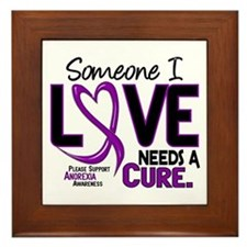Needs A Cure 2 ANOREXIA Framed Tile