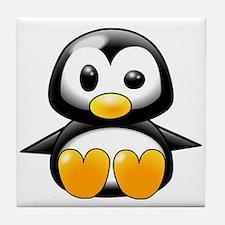 Baby Penguin Tile Coaster