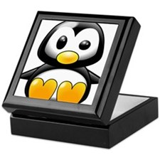 Baby Penguin Keepsake Box