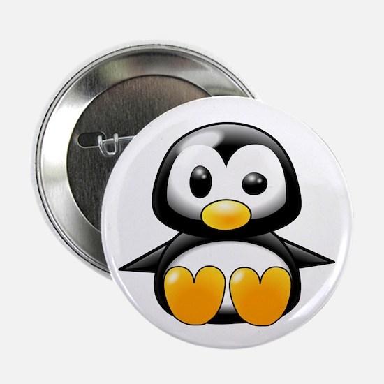 """Baby Penguin 2.25"""" Button"""