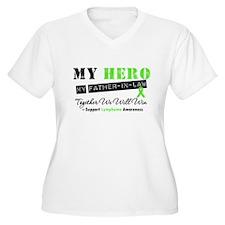 LymphomaHeroFather-in-Law T-Shirt