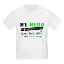 LymphomaHeroFather-in-Law T-Shirt
