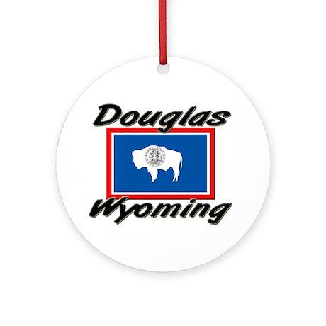 Douglas Wyoming Ornament (Round)