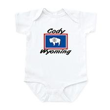 Cody Wyoming Infant Bodysuit