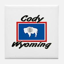 Cody Wyoming Tile Coaster