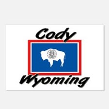 Cody Wyoming Postcards (Package of 8)