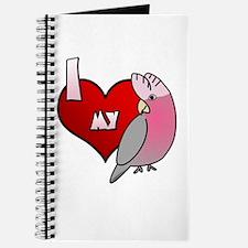 Love Galah Cockatoo Journal