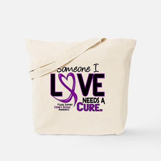 Needs A Cure 2 CROHNS Tote Bag