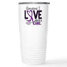 Needs A Cure 2 CROHNS Travel Mug