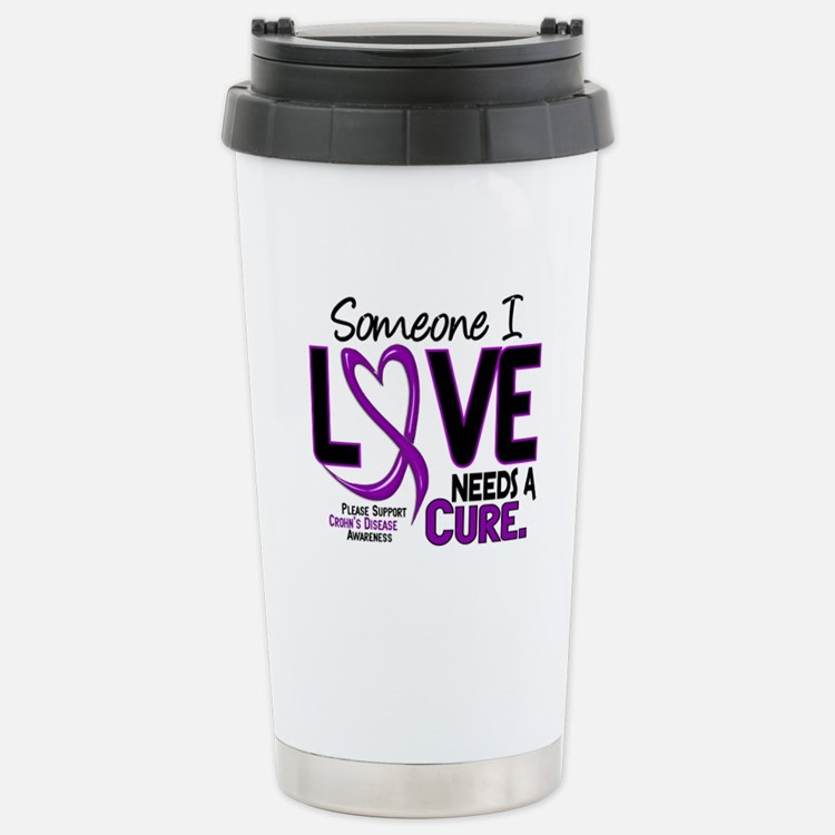 Needs A Cure 2 CROHNS Travel Mug