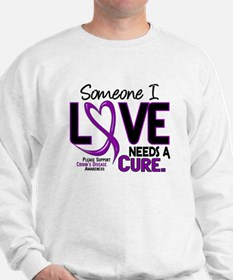 Needs A Cure 2 CROHNS Sweatshirt