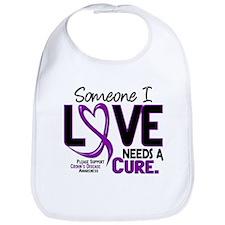 Needs A Cure 2 CROHNS Bib