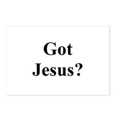 Got Jesus ? Postcards (Package of 8)