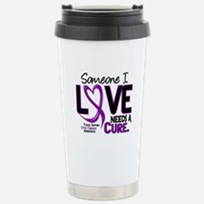 Needs A Cure 2 CYSTIC FIBROSIS Travel Mug