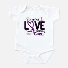 Needs A Cure 2 CYSTIC FIBROSIS Infant Bodysuit