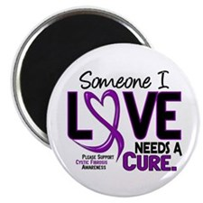 """Needs A Cure 2 CYSTIC FIBROSIS 2.25"""" Magnet (10 pa"""