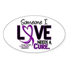 Needs A Cure 2 CYSTIC FIBROSIS Decal