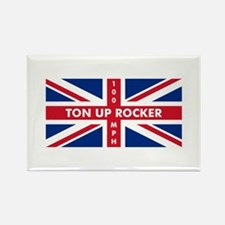 Ton Up Jack Rectangle Magnet