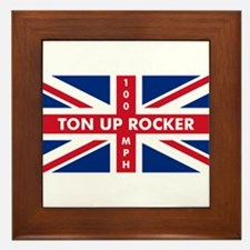 Ton Up Jack Framed Tile