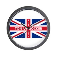 Ton Up Jack Wall Clock