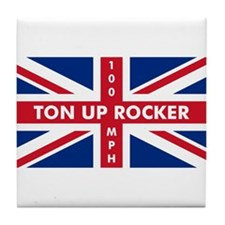 Ton Up Jack Tile Coaster