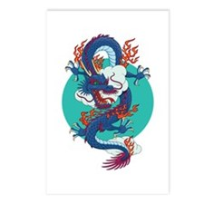 Chinese Dragon Postcards (Package of 8)