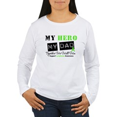 Lymphoma Hero Dad T-Shirt