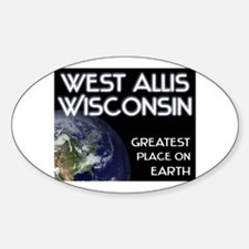 west allis wisconsin - greatest place on earth Sti