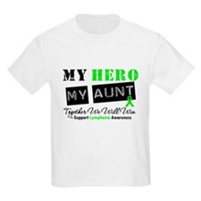 Lymphoma Hero Aunt T-Shirt