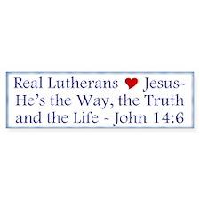 Jesus the Way, Truth and Life Bumper Bumper Sticker