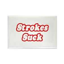 """Strokes Suck"" Rectangle Magnet"