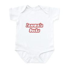 """""""Insomnia Sucks"""" Infant Bodysuit"""