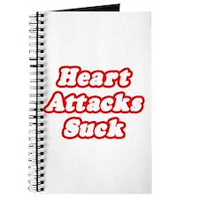 """""""Heart Attacks Suck"""" Journal"""