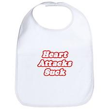 """""""Heart Attacks Suck"""" Bib"""
