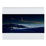Saturn View Wall Calendar