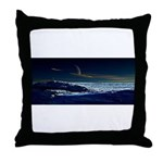 Saturn View Throw Pillow