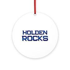 holden rocks Ornament (Round)