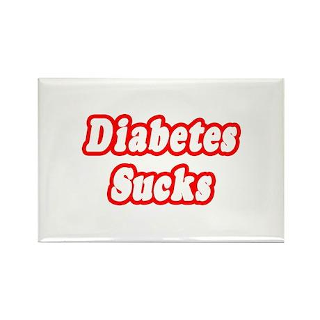 """Diabetes Sucks"" Rectangle Magnet (10 pack)"