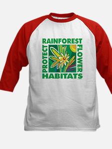 Protect the Rainforest Kids Baseball Jersey