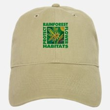 Protect the Rainforest Baseball Baseball Cap
