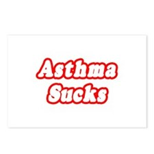 """Asthma Sucks"" Postcards (Package of 8)"