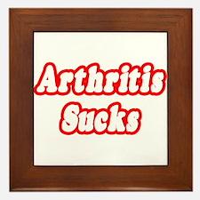 """""""Arthritis Sucks"""" Framed Tile"""
