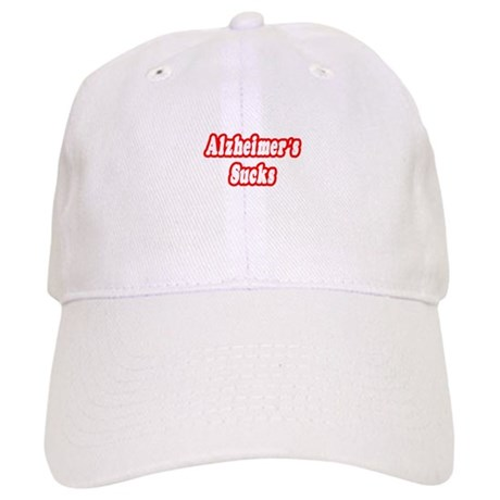 """Alzheimer's Sucks"" Cap"