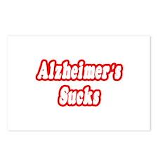 """Alzheimer's Sucks"" Postcards (Package of 8)"