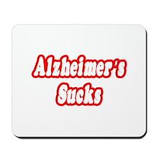 """Alzheimer's Sucks"" Mousepad"